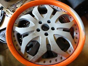 Lamborghini Gallardo Forgiato Tello Wheels Rims 3 Piece Set Murcielago