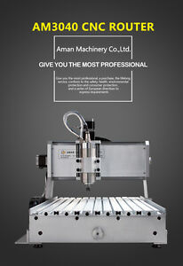 800w Am3040 Cnc Mini Portable Wood Working Machine wood Engraving Milling Router