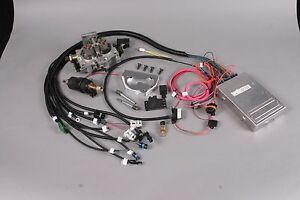 Tbi Throttle Body Fuel Injection Kit For Most 6 Cyl Engines