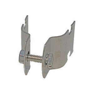 Gra 304 Stainless Steel Channel Rigid Pipe Strap 3 4 In pk10 V110 3 4ss Silver