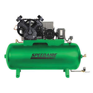 Speedaire Elec Air Compressor 2 Stage 10hp 34cfm 35wc58