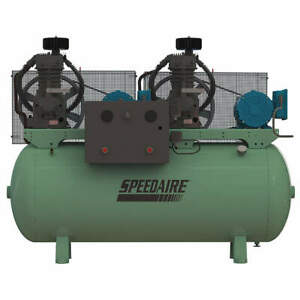 Speedaire Elec Air Compressor duplex 5hp 32 8cfm 35wc60