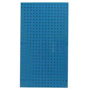 Pegbrd Panel 42 1 2 squr Hole blue pk2 5tpa9