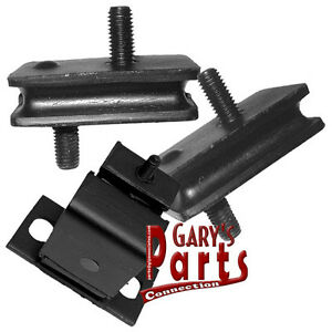 Engine Trans Mounts 3 Dodge Dart 1968 73 340 Cu In