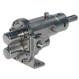Dayton Rotary Gear Pump Head 1 In 1 1 2 Hp 4khp3