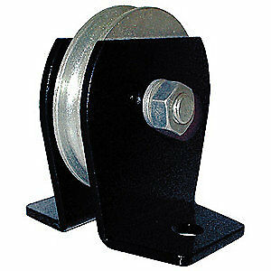 Grainger Approved Pulley Block wire Rope 3000 Lb Load Cap 5rrr3