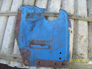 Vintage Ford 3600 Gas Tractor air Cleaner Support Tank Shield