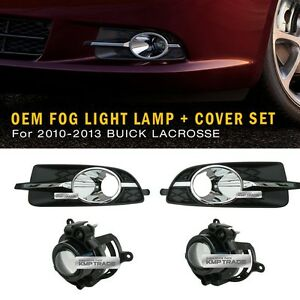 Genuine Parts Bumper Fog Light Lamp Assy Cover Lh Rh For Buick 2010 13 Lacrosse