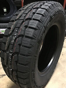 2 New 255 70r16 Crosswind A t Tires 255 70 16 2557016 R16 At 4 Ply All Terrain