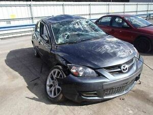 07 08 09 Mazda 3 L Front Seat Bucket Cloth And Leather Air Bag Manual Speed3