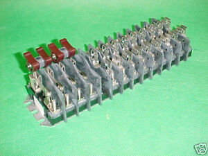 States Test Switch Fuse Terminal 213 r Avo brand New