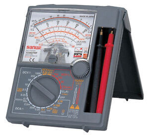 Sanwa Yx 360trf Analog Multimeter Japan