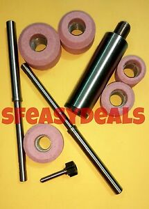 Valve Seat Grinder Stone Holder Sioux Star Drive With 2 Pilots 5 Stones