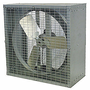 Dayton Exhaust Fan 24in d d 230v 44yu13