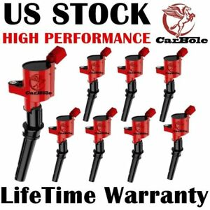8 Pack On Plug Ignition Coils For Ford F 150 F250 F550 1997 2003 4 6 5 4l Dg508