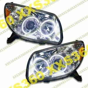 Oracle Halo Headlights Non Hid Toyota 4runner 06 09 White Led Angel Demon Eyes