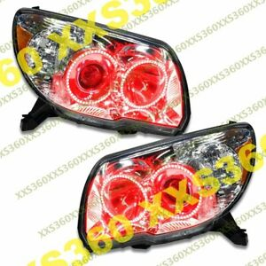 Oracle Halo Headlights Non Hid Toyota 4runner 06 09 Red Led Angel Demon Eyes