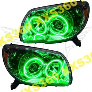 Oracle Halo Headlights Toyota 4runner Sport 06 09 Green Led Angel Demon Eyes