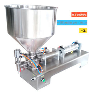 Automatic Filling Machine 100 1000ml For Cream honey sauce cosmetic tooth Paste