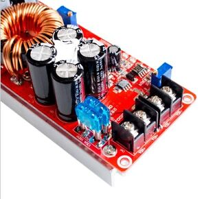 1200w 20a Dc Converter Boost Car Step up Power Supply Module 8 60v To 12 83v L