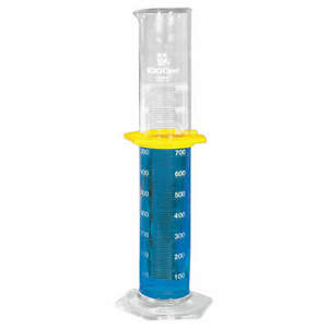 Sibata Graduated Cylinder 1000ml 10ml Grads pk2 2351 1000