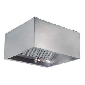 Dayton 430 Stainless Steel Commercial Kitchen Exhaust Hood ss 60 In 20ud06