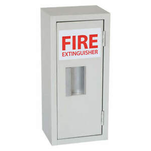 Grainger Approved Fire Extinguisher Cabinet 5 Lb 8 1 16inw 35gx42