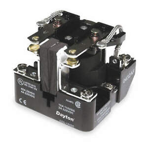 Dayton Open Power Relay 8 Pin 120vac dpdt 5z534