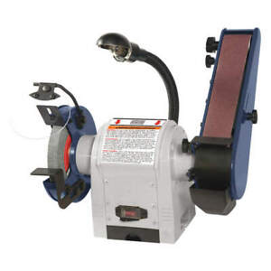 DAYTON Combination Belt and Bench Grinder120V 49H006