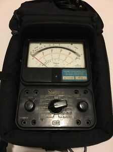 Simpson Electric 260 8prt Analog Multimeter
