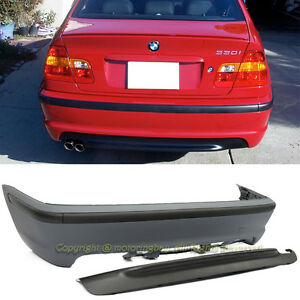 For 99 05 Bmw E46 3 series Sedan Pp M tech Ii P p Rear Bumper Cover Conversion