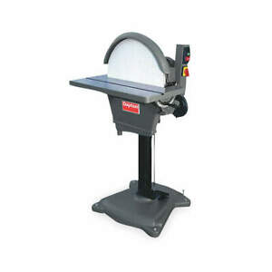 DAYTON Disc Sander20 In2 HP230V1 Ph 2XTG5