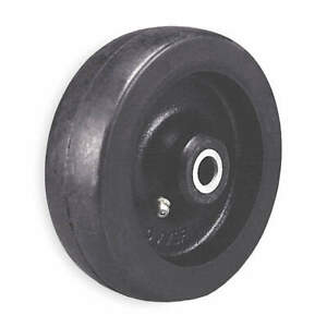 Grainger Approved Caster Wheel rubber 10 In 1350 Lb 250 Ru1h