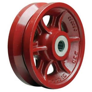 Grainger Approved Caster Wheel cast Iron 8 In 2500 Lb W 8 v 1