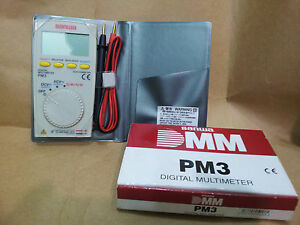 Sanwa Pm3 Digital Multimeter With Multi function Brand New