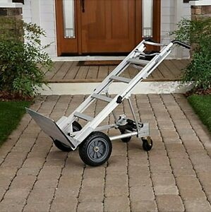Hand Truck 1000 Lb Mover Dolly Furniture Moving Cart 4 Wheel Heavy Duty Capacity