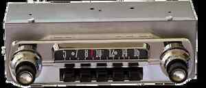 1962 Late And 1963 Ford Fairlane Am Fm Bluetooth Radio Hand Made In The Usa