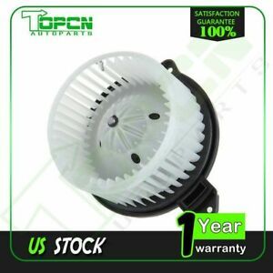 Hvac Heater Blower Motor With Fan Cage For Dodge Ram 1500 2500 3500 Jeep Front