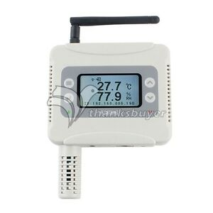 Aw5145y Ethernet Wifi Temperature Humid Transmitter Usb Rj45 For Wifi Connection