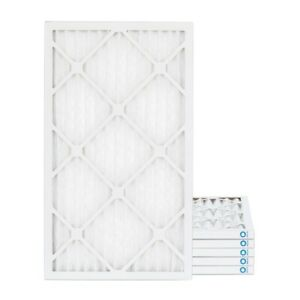 14x25x1 Merv 8 Pleated Ac Furnace Air Filters 6 Pack 5 49 Each