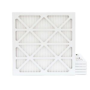 24x24x1 Merv 11 Pleated Ac Furnace Air Filter 6 Pack 7 49 Each