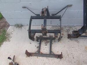 Used Meyer Snow Plow Vehicle Bracket Custom For Small Pickup Nissan Or Mazda
