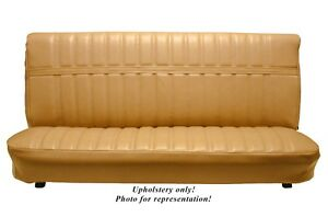 1973 80 Chevy gmc Std Cab Front Bench Seat Upholstery All Vinyl