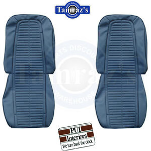 1969 Firebird Front Rear Seat Upholstery Covers Standard Interior Pui New