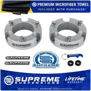 2 Front Leveling Lift Kit For 2010 2020 Toyota Tacoma Pro Silver