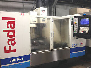 2004 Fadal 4020 Vertical Machining Center Mill Milling Machine 3 axis Low Hours