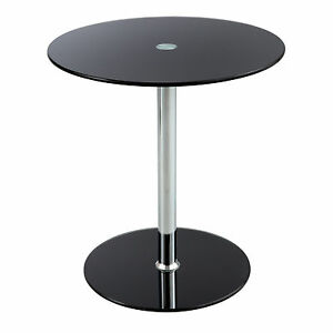 Glass Accent Table Tempered Glass
