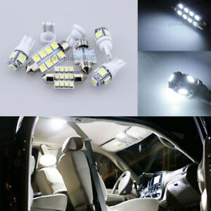 Premium 6000k White Interior Led Light Package Bulbs For Honda Civic Sedan Coupe
