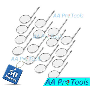 Aa Pro 100 Dental Mouth Mirror Head 5 Plain Dental Instruments