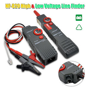 Nf 820 High low Voltage Underground Wall Wires Fault Locator Cable Finder H6yf